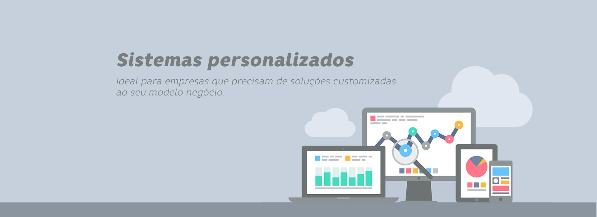 Sistemas personalizados - Sizy.com.br