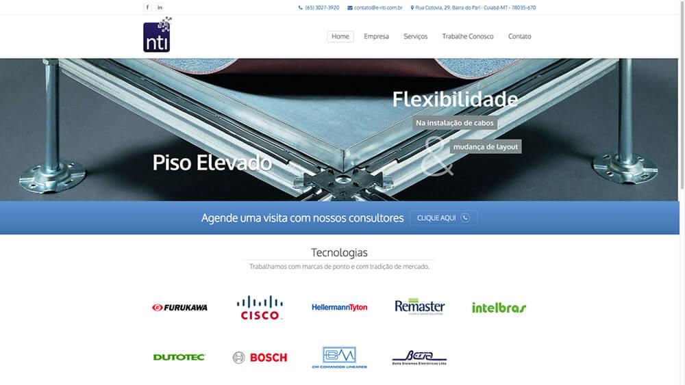 Sizy.com.br - Portfólio - NTI Soluções Integradas - Site responsivo