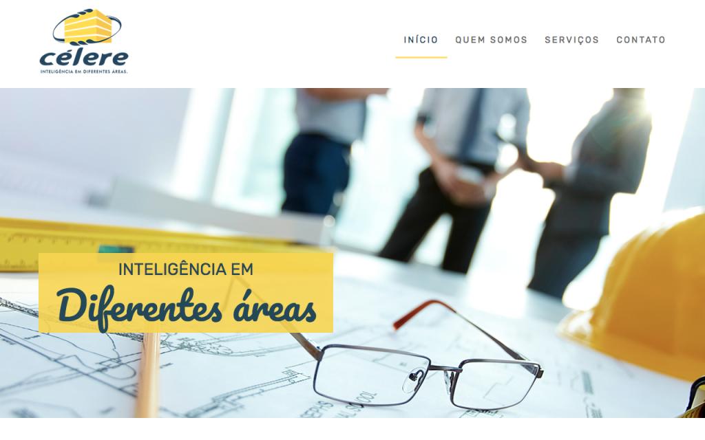 Célere Engenharia - Site Institucional - Sizy.com.br